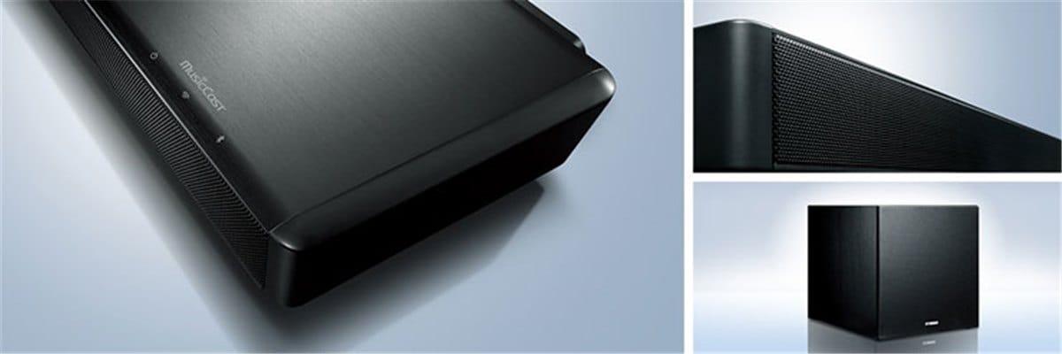 Yamaha YSP-2700 hochwertige Materialien