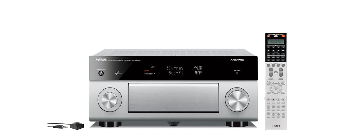 Rx A2020 Ubersicht Av Receiver Audio Video