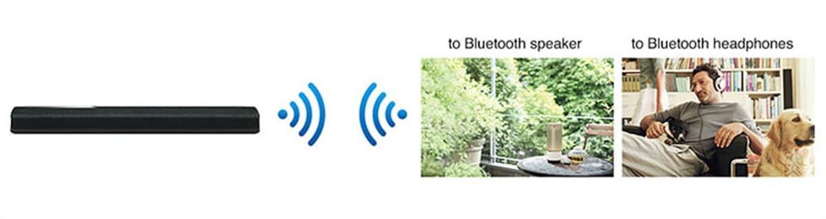 Yamaha YAS-306 Bluetooth Kommunikation