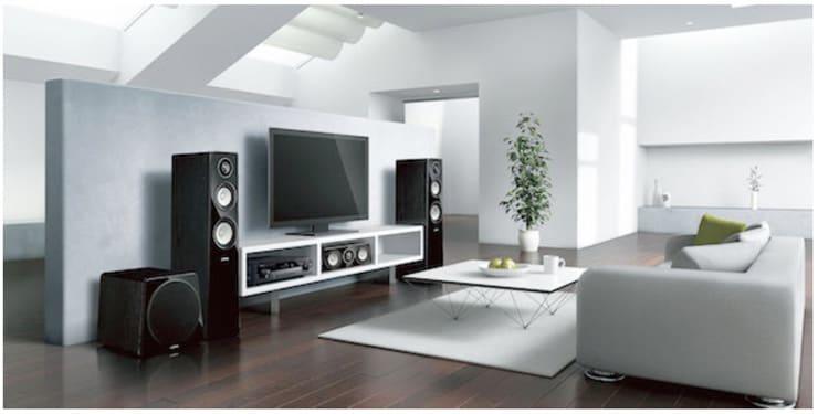 yamaha musiccast im ganzen haus. Black Bedroom Furniture Sets. Home Design Ideas