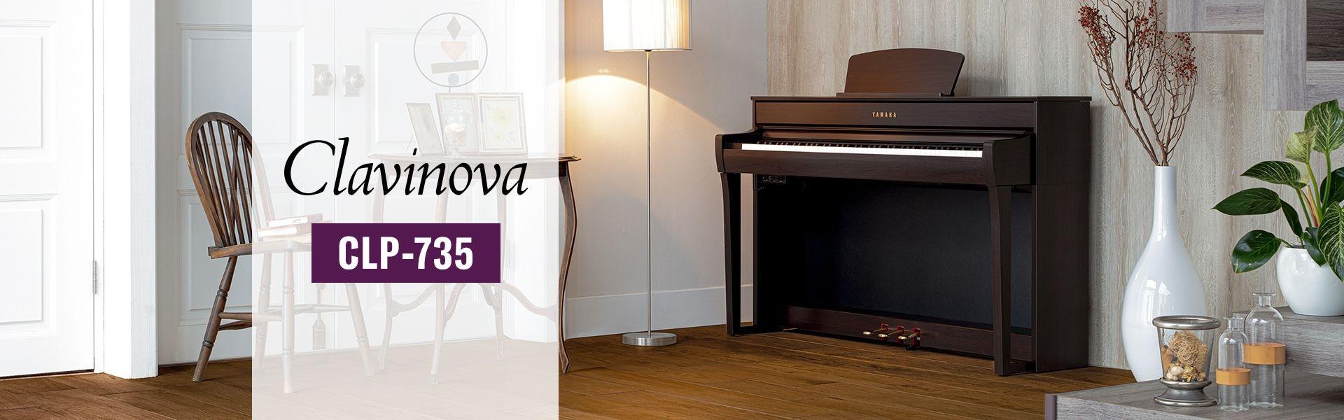 Yamaha Clavinova CLP-735