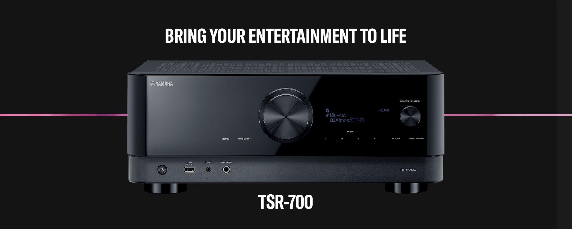 TSR-700 - Übersicht - AV-Receiver - Audio & Video - Produkte - Yamaha -  Deutschland